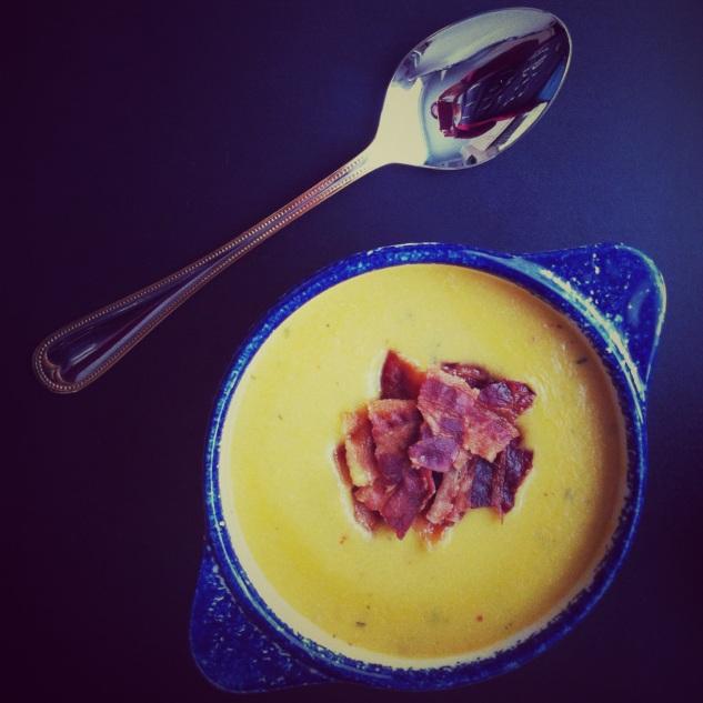 Corn soup Maïssoep