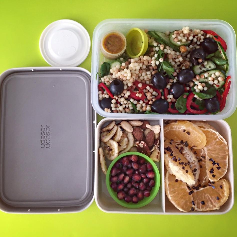 Lunchbox Arabisch slaatje