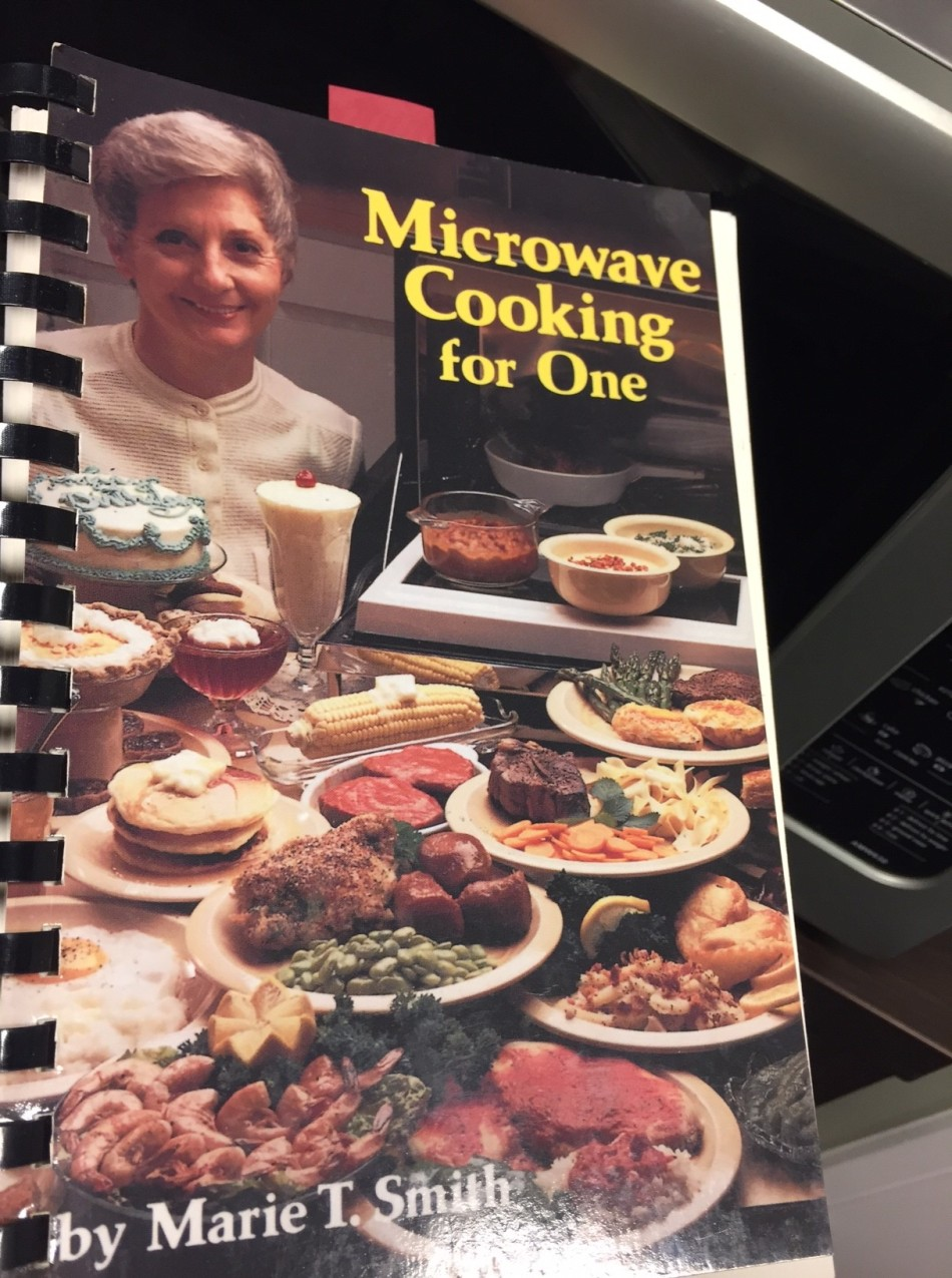 Microwave cooking for one